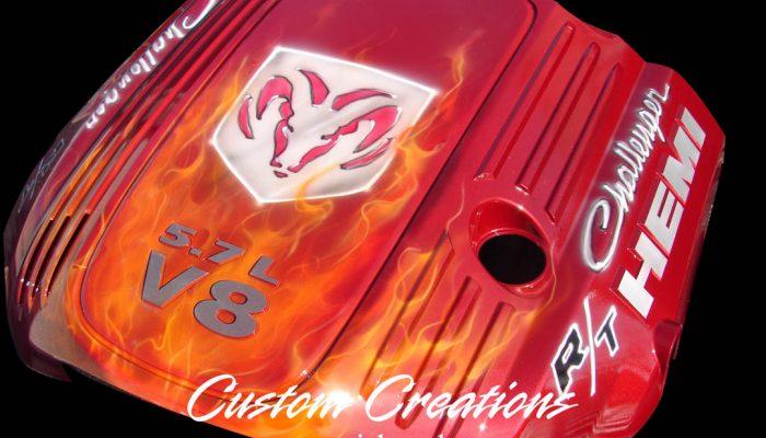 Custom Creations Airbrush Challenger Hemi